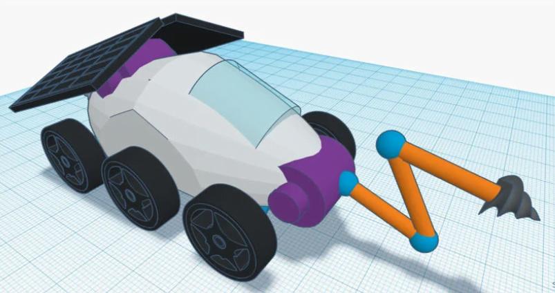Design a Moon rover