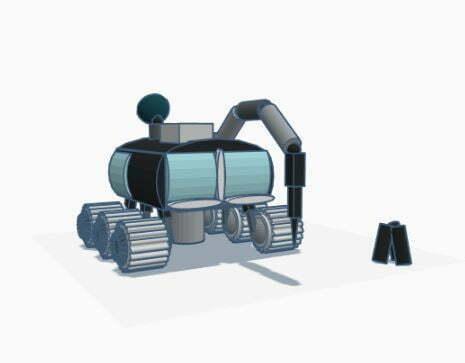 Multi-purpose Lunar Rover