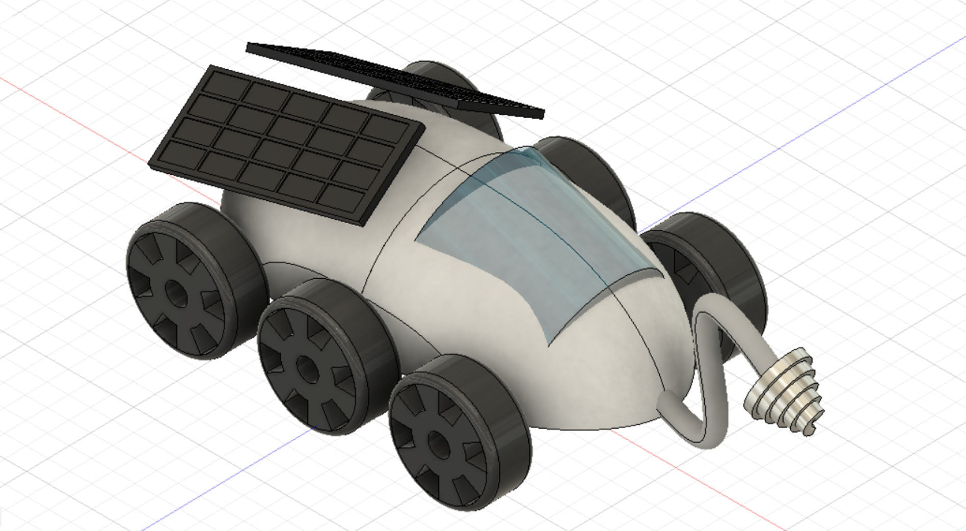 Design A Lunar Rover in Fusion 360