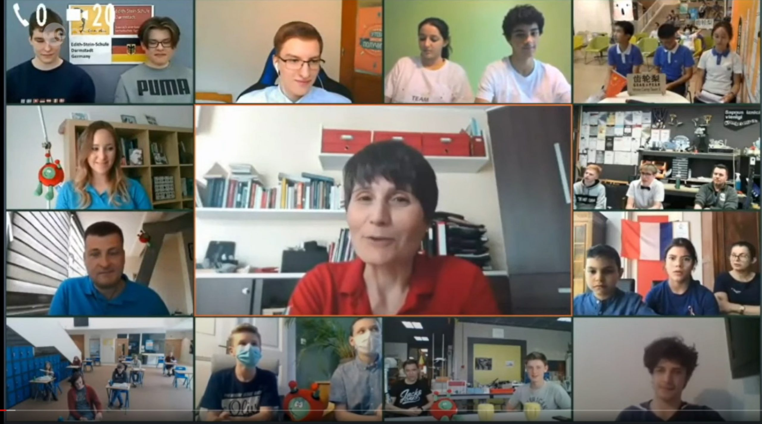 2019/2020 Moon Camp Winners Webinar With ESA Astronauts Samantha Cristoforetti and Luca Parmitano