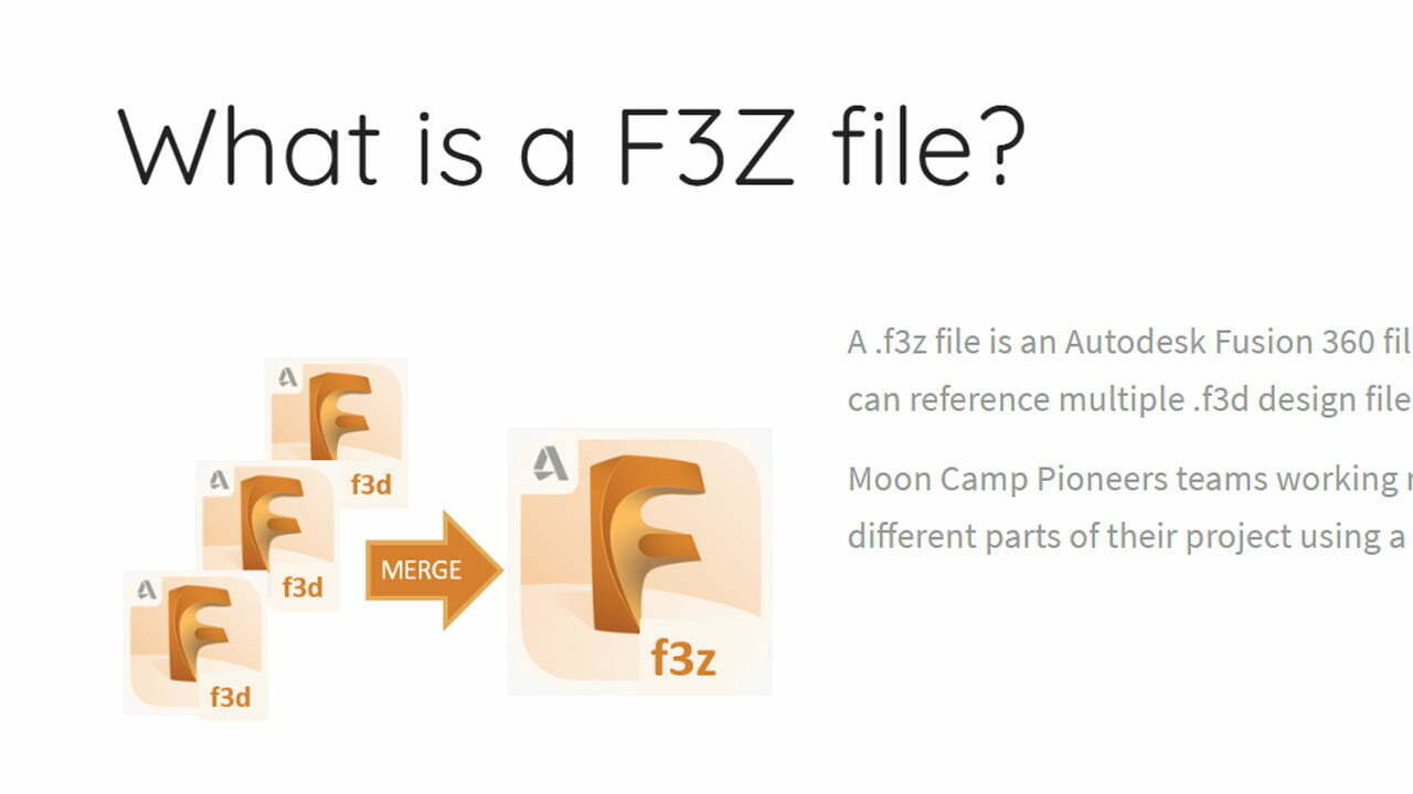 What is a F3Z file